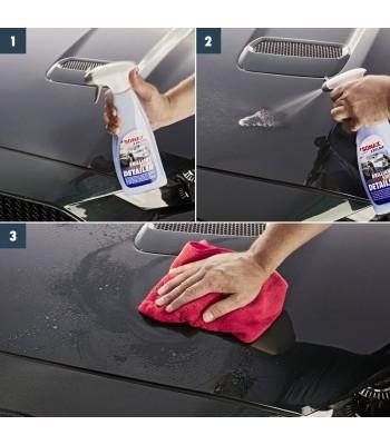 Rychlovosk tzv. rychlodetailer je účinný prostředek pro kvalitní a rychlé čištění a konzervaci laku