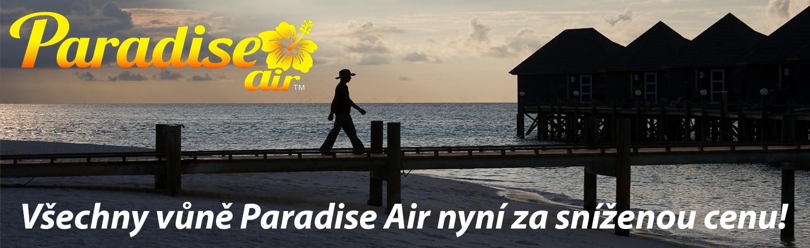 Paradise Air všechno ve slevě! Snížené ceny!
